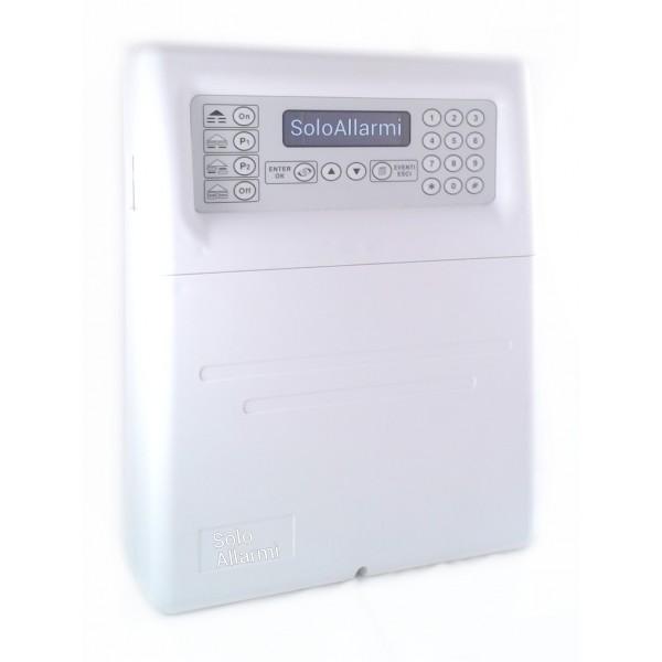 Centrale allarme antifurto wireless e via filo Sydra 64 ...