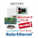 Abs18 plus con tastiera touch screen