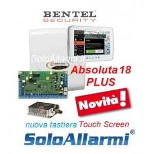 Abs18 plus con tastiera touch screen