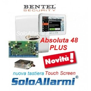 Abs48 plus con tastiera touch screen
