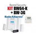 BW64KG - Kit allarme wireless 868 MHz bidirezionale con GSM 3G
