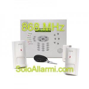 Kit allarme Wisdom wireless 868MHz