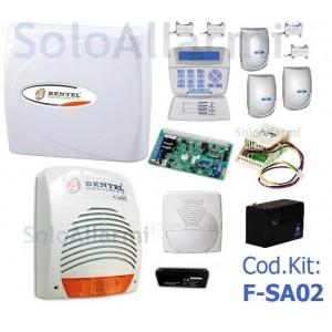 Kit allarme via filo per interno Pet immune FSA02 con Kyo32