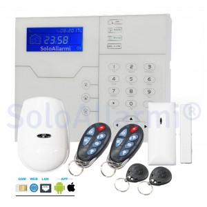 Kit allarme casa completo senza fili 868 MHz KIT MY868