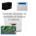 Centrale completa Bentel Absoluta42 con tastiera Premium LCD