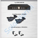 Kit videosorveglianza KV01