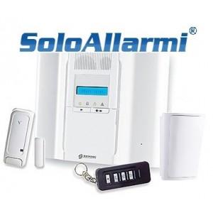 BW64K - kit allarme via radio 868 MHz bidirezionale a 64 zone
