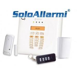 BW30 - Kit allarme wireless 868 MHz bidirezionale a 30 zone