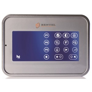 Lettore di Prossimità Touch Screen via Radio Bentel Security BW-KPT