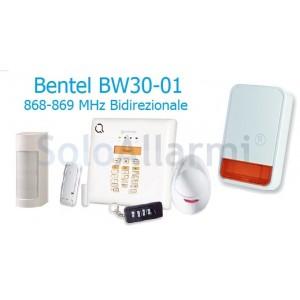 Kit allarme wireless BW30-01 wireless 868MHz per esterno