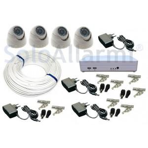 kit videosorveglianza per esterno completo kit tvcc 4t-SA02