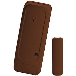 Contatto Magnetico via Radio Bentel Security BW-MCB per Porte e Finestre - colore marrone