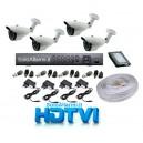 Kit Videosorveglianza Eurotek HD-TVI - mod. KE01