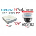 KIT IP 4MP 4Ch HiWatch
