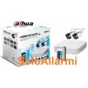 Kit Videosorveglianza DAHUA 4 canali 2 telecamere