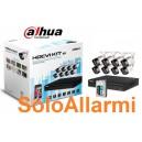 Kit Videosorveglianza DAHUA 16 canali 8 telecamere