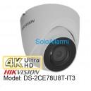 Dome camera HIKVISION 4K