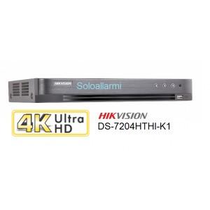 DVR HIKVISION 4ch 4K